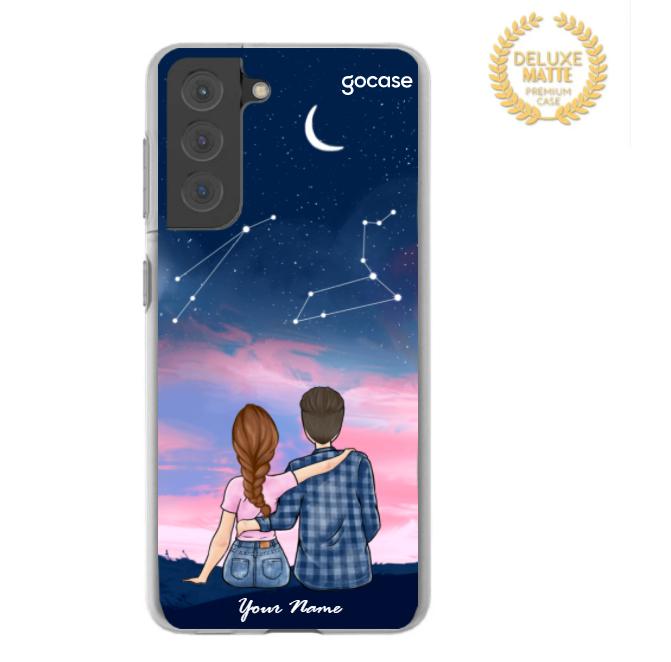 Starry Sky Couple Phone Case